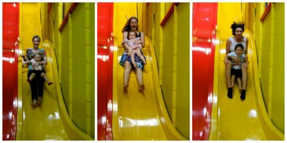 Giant Slides at Kids Club, Homer Street Earlwood