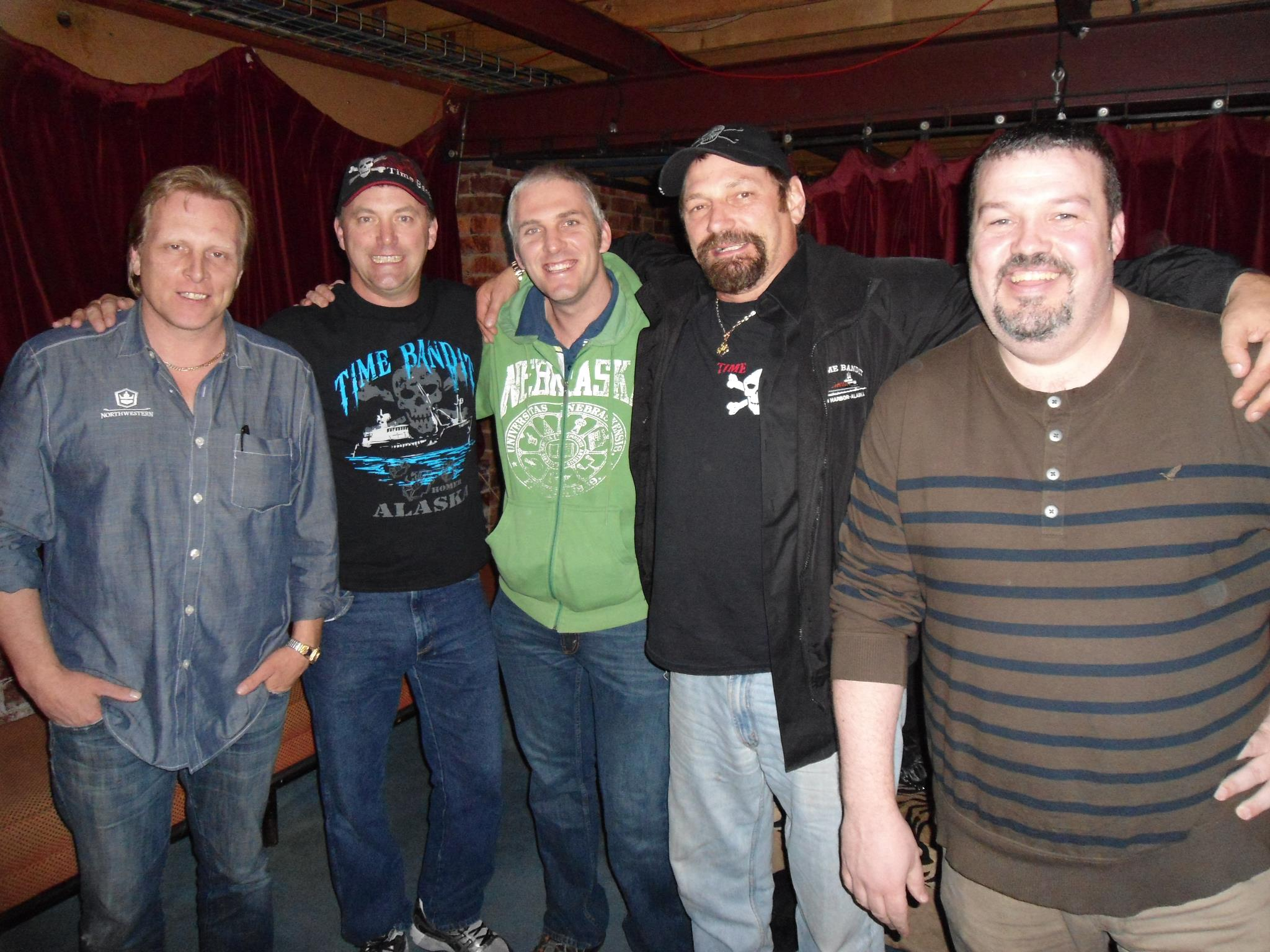 My Husband met the cast of The Deadliest Catch