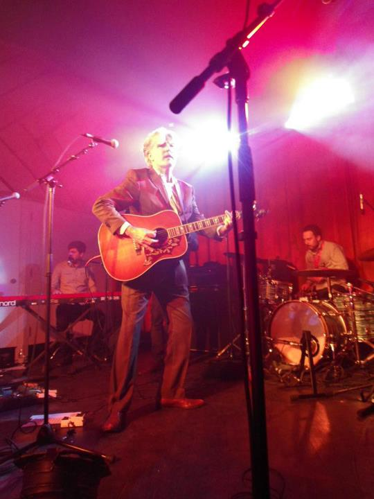 Up close with Tim Finn at his Album Launch