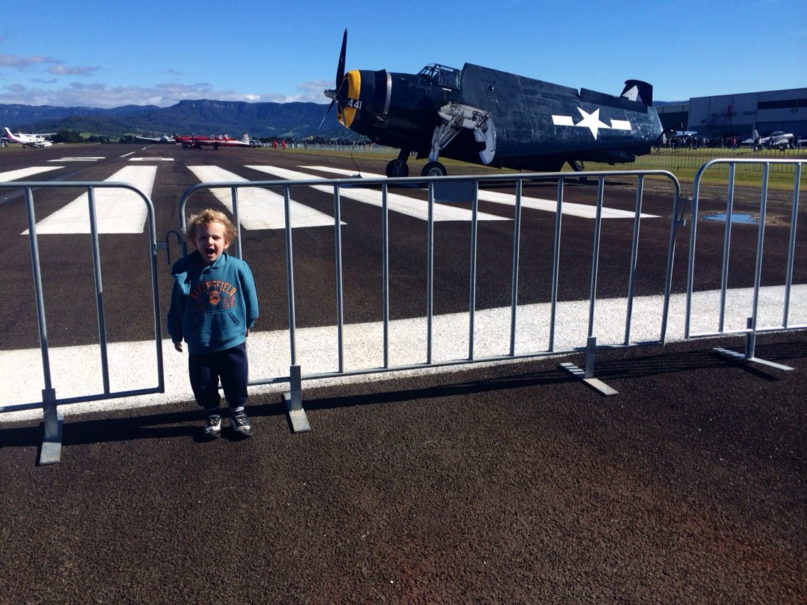 Wings Over Illarwarra Air Show was a dream come true for my little boy
