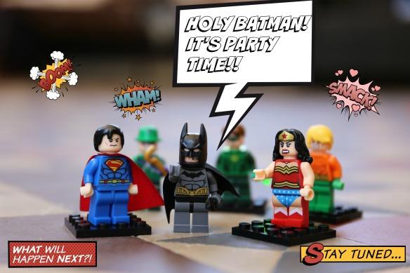 Holy Batman! It's party time!
